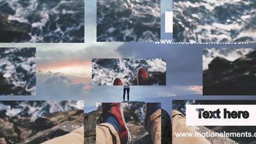 Slideshow Modern After Effects Template