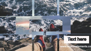 Slideshow Modern After Effects Template