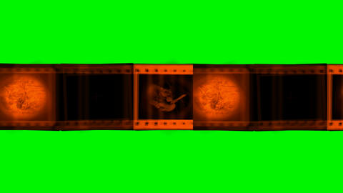 film sequence green screen Animation