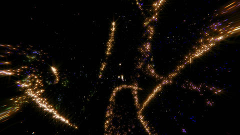 Glitter Star shower Image