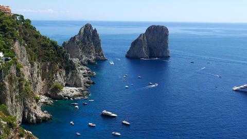Capri , Italy Live Action