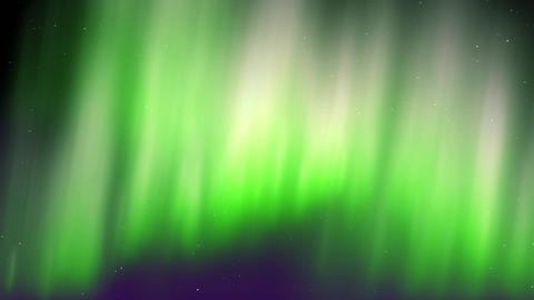 Aurora Animation 03 CG動画素材