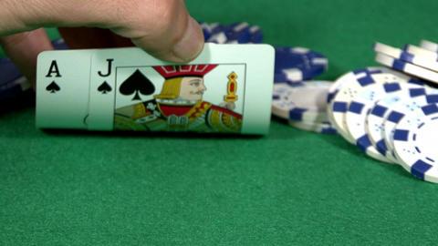 Casino Blackjack Hand ビデオ