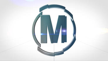 Clean Logo 3D Plantilla de After Effects