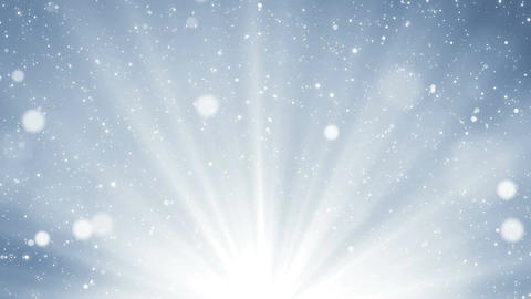 Light silver background with glitter sparks and light at the bottom. Seamless Animation