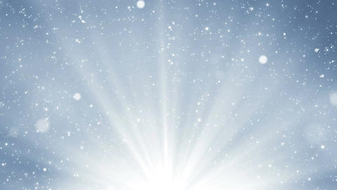 Light silver background with glitter sparks and light at… Stock Video Footage