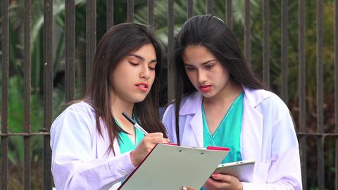 Young Female Nurses Live Action