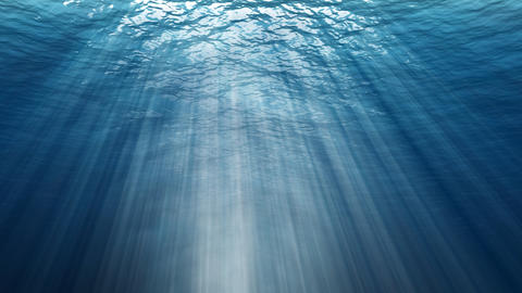 Abstract underwater background. Digital backdrop Photo
