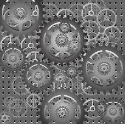 Mechanism - gears - vector ベクター