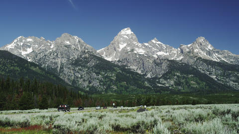 Tgreat Teton National park Footage