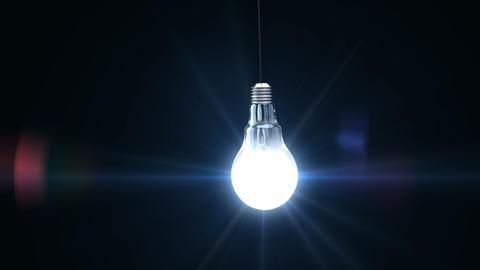 3d light bulb Animation