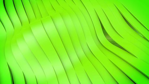 Wavy band surface Animation