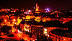 Timelapse Night in Zagreb Live Action