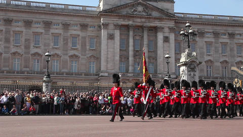 Buckingham Palace London Footage
