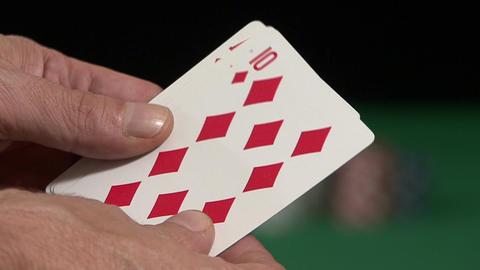 Casino Poker Hand Image