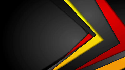 Abstract red, orange and black corporate video animation Animation