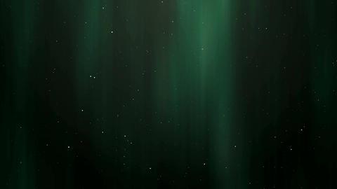 Northern lights animation Stock Video Footage