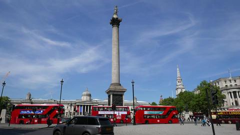 Nelson's Column Trafalgar Square Footage