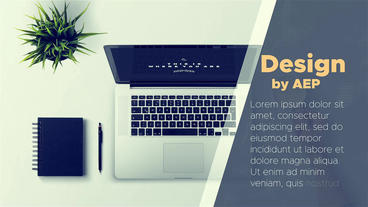 Modern Corporate Promo After Effects Templates