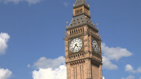 Big Ben Zoom Out Footage