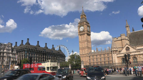 Big Ben Westminster London Footage