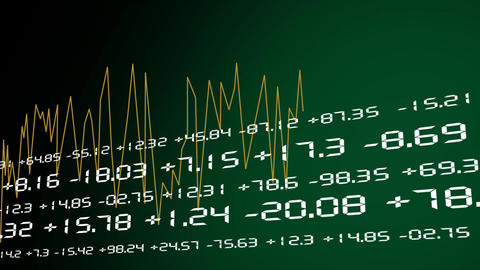 Stock Exchange Graphics Animation