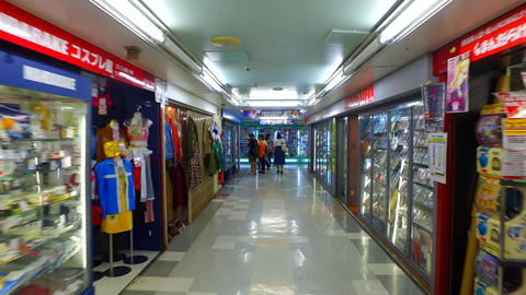 Nakano Broadway shopping complex in Tokyo Japan ビデオ