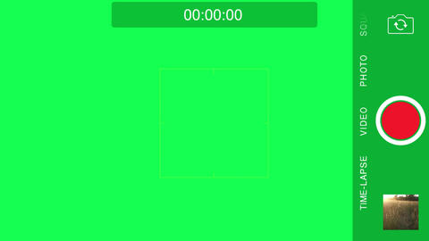 iPhone Rec Screen | FREE - Green Screen Stock Footage Animación