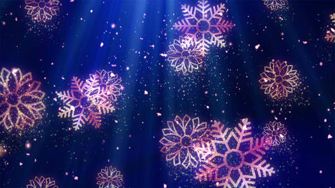 Christmas Holiday Glitters 1 Animation