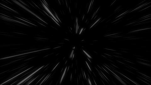 Futuristic white lines movement Animation