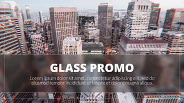 Glass Promo - Corporate Presentation Plantilla de After Effects