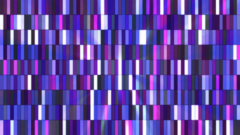 Broadcast Twinkling Hi-Tech Small Bars, Purple, Abstract, Loopable, 4K Animation