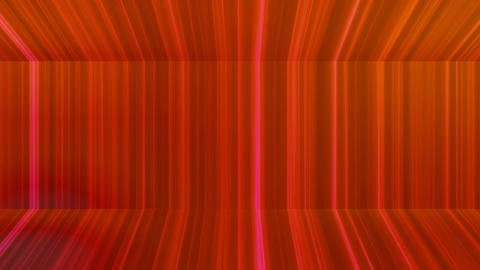 Broadcast Vertical Hi-Tech Lines Passage, Red, Abstract, Loopable, 4K Animation