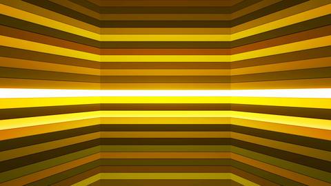 Broadcast Twinkling Horizontal Hi-Tech Bars Shaft, Green, Abstract, Loopable, 4K Animation