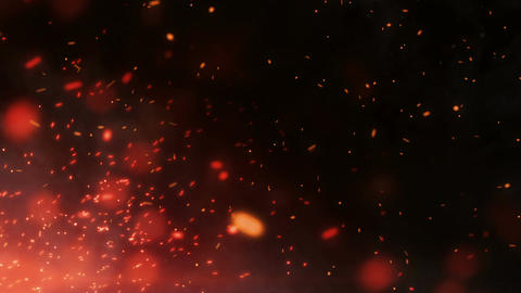 Epic Fire Footage Background 4 Animation