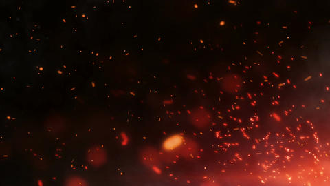 Epic Fire Footage Background 5 Animation
