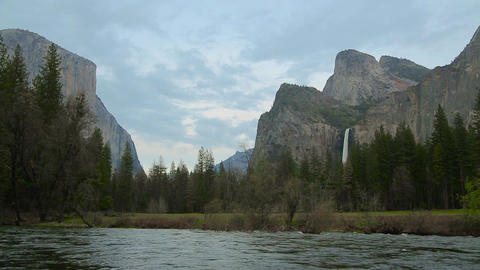Yosemite national park Footage