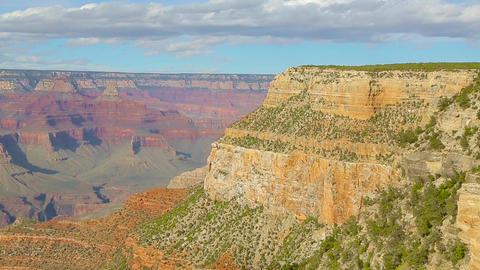 Grand Canyon National Park in Arizona, USA Live Action