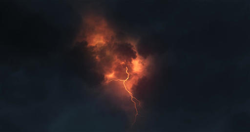 Lightning color Animation