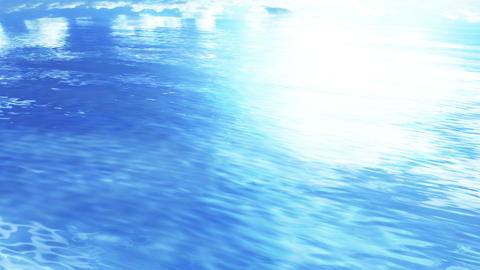 Water Surface 16 An b 4 K, CG動画素材