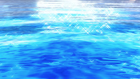 Water Surface 16 Cf c 4 K, CG動画素材