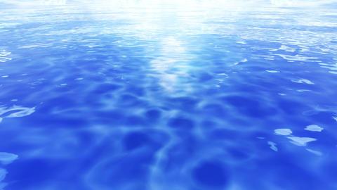 Water Surface 16 Em b 4 K CG動画