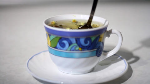 Preparation of the herbal tea Filmmaterial