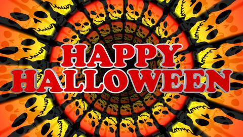 Happy Halloween Loop Animation Animación
