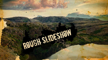 Rough Slideshow After Effects Templates