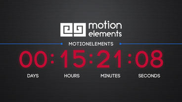 Countdown Plantilla de After Effects