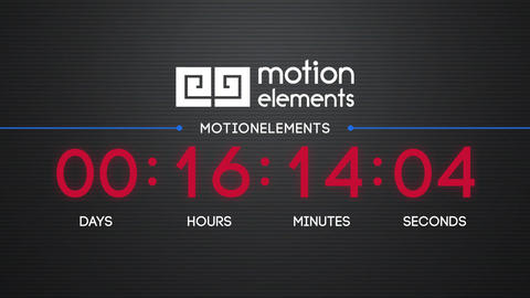Countdown After Effects Template