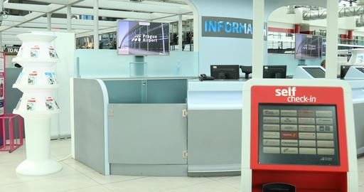 Airport Interior Footage