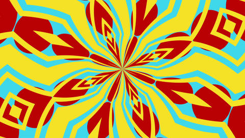 Kaleidoscope 8 - Kaleidoscopic Fun Video Background Loop Animation