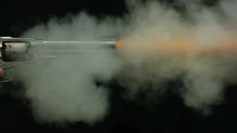 Gun Fire Footage